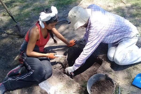 relevamiento arqueologico las toscas