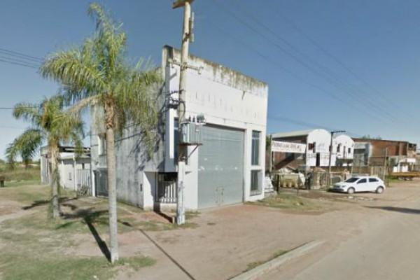 La fábrica de hielo San Remo, en barrio San Cayetano de Presidencia Roque Sáenz Peña, Chaco. Imagen Google Maps.