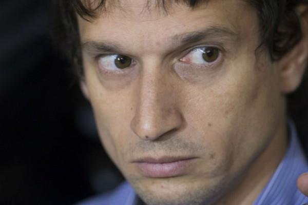 El técnico en informática Diego Lagomarsino