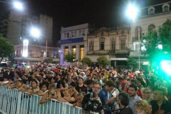 Una multitud despidió en Avellaneda al Chino de La Nueva Luna