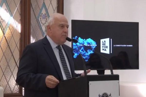 Lifschitz pidió madurez y responsabilidad en la dirigencia política para el tratamiento de la reforma