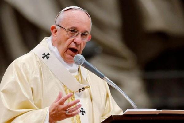 """Resultado de imagen para Francisco pidió """"respetar los derechos humanos"""" con """"paz y reconciliación"""" en Venezuela"""