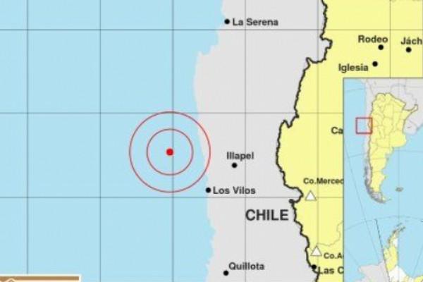 Un fuerte sismo en Chile sacudió la noche sanjuanina
