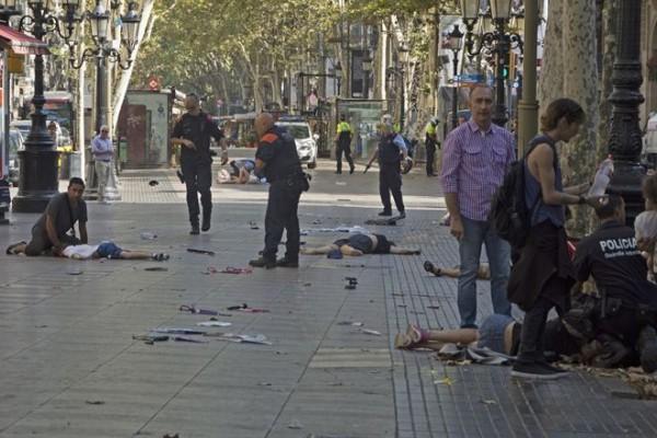 Resultado de imagen para Dos argentinos heridos en el atentado de Barcelona