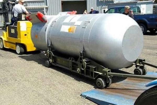 """Resultado de imagen para El gobierno dice tener el """"padre de todas las bombas"""""""